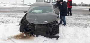 Водитель легковушки пострадал в столкновении с фурой из Казахстана на трассе в РТ