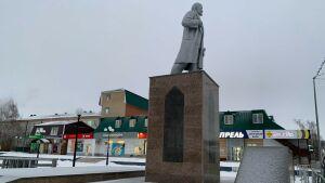 В центре Мамадыша завершена реставрация памятника Ленину