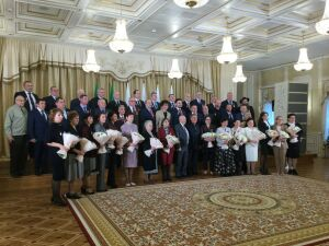 Минниханов вручил госнаграды России и Татарстана 46 выдающимся жителям