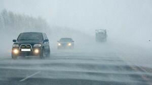 ГИБДД напоминает татарстанским водителям об осторожности в надвигающуюся метель