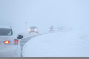 Татарстанцев предупредили о снеге, метели и сильном ветре