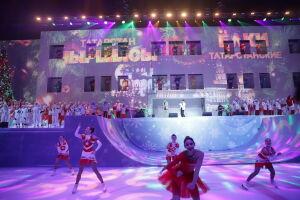 Гордость и радость РТ: Минниханов поздравил детей на главной елке республики