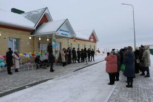 В Сиктерме-Хузангаево Алькеевского района открылся современный детский сад