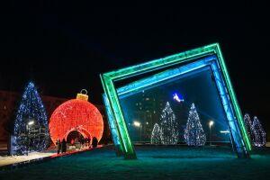 В Нижнекамске откроется елочный городок с гигантским шаром и северными оленями