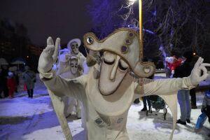 В Казани стартовали новогодние спектакли «Странствующих кукол господина Пэжо»