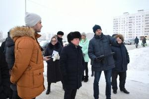 Власти Нижнекамска одобрили строительство парковки на одной из улиц города