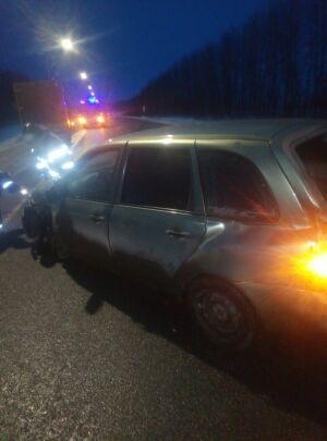 Водитель авто попал в больницу, решив проскочить перекресток перед «ГАЗелью» в РТ