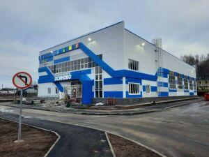 Универсальный спортивный зал в Осинове готовится к открытию