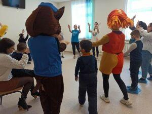 В детской поликлинике Чистополя устроили праздник «Всегда вместе»
