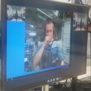 Юные бугульминцы взяли интервью у космонавта Рыжикова на МКС