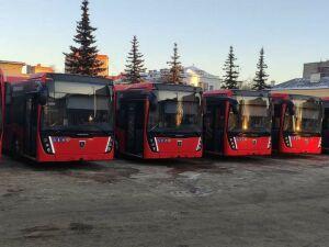 На дороги Казани выйдут еще 20 новых автобусов