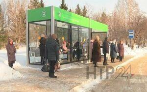 В Нижнекамске на месте парковки для инвалидов установили автобусную остановку