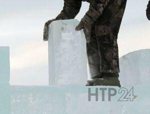 В Нижнекамске ко Дню защитника Отечества возведут огромный ледяной замок