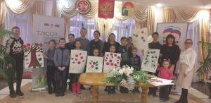 Проект «Добрый дворик» собрал в Дрожжановском районе родителей с особенными детьми