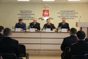 В Челнах Артем Хохорин представил нового начальника отдела полиции «Комсомольский»