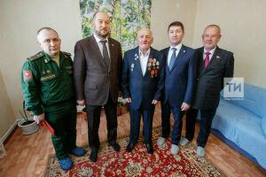 Пестречинскому ветерану вручили юбилейную медаль в честь 75-летия Победы