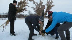 На Школьном озере в Камском Устье провели акцию по сохранению фауны водоема