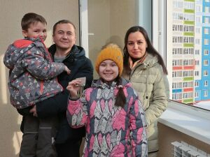 В Нижнекамске 120 семей заселились в новый многоэтажный дом