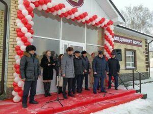 В Алексеевском районе открылся новый сельский Дом культуры