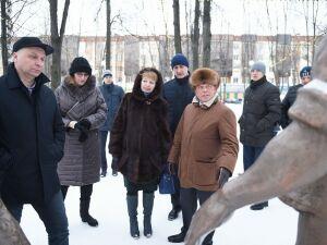 Делегация из Кургана оценила общественные пространства в Нижнекамске