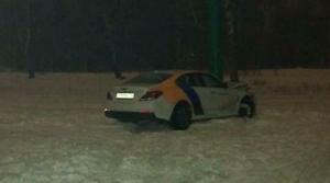 Под Казанью каршеринговый автомобиль врезался в вывеску «Сабантуй»
