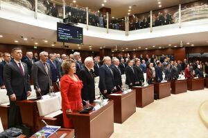 Заседание Госсовета РТ началось с минуты молчания в память о Каримове и Хайруллине