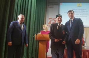 Ветерану войны из Спасского района вручили памятную медаль «75 лет Великой Победы»