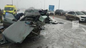 Плохая погода стала причиной смертельного ДТП в Казани, где погибли мать с ребенком