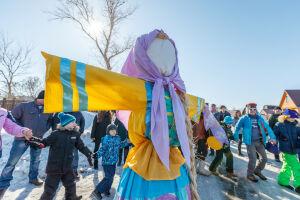 Масленичные гулянья с играми и сожжением чучела проведут на Кремлевской набережной
