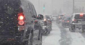 Мокрый снег и дождь вновь надвигаются на Татарстан