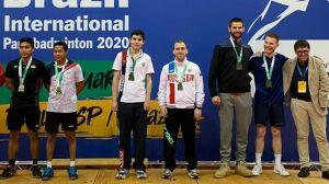 Татарстанцы стали призерами международных состязаний по парабадминтону