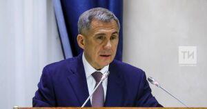 Минниханов провел в Зеленодольске совещание по использованию газомоторного топлива