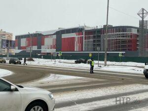 Около строящегося в Нижнекамске ТРЦ обустроят пешеходные переходы