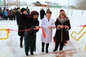 В елабужском селе Хлыстово открылся новый фельдшерско-акушерский пункт