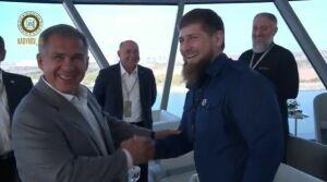 Глава Чечни: Рустам Минниханов всегда готов поделиться мудростью и опытом