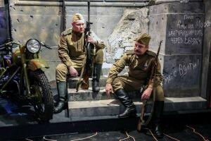Свист пуль и военный мотоцикл: в Музее-мемориале ВОВ презентовали новую экспозицию