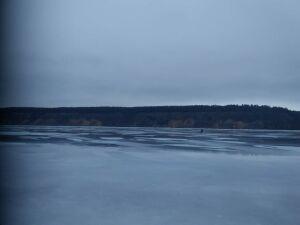 Спасателей вызвала жительница РТ, супруг которой заблудился в тумане на льду Волги