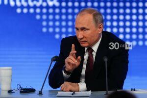 Путин прокомментировал падение цен на нефть и ослабление курса рубля