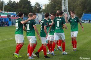 ФК «КАМАЗ» одержал крупную победу в контрольном матче на сборе в Турции