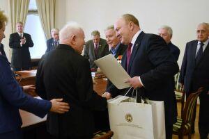 Полпредство РТ поздравило москвичей – ветеранов ВОВ, перешагнувших 100-летний юбилей
