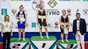 Челнинка заняла два призовых места на российском чемпионате по сумо