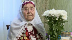 Труженице тыла – экс-депутату сельсовета из Высокогорского района вручили медаль