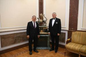 Минниханов принял в Казанском Кремле главу Фонда Андрея Первозванного