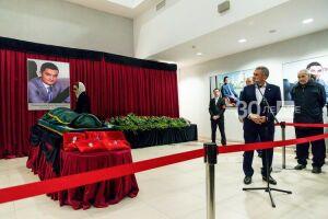 Минниханов на панихиде Миннахметова: Ирек всегда стремился вперед