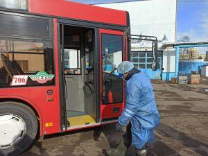 Все для безопасности пассажиров: транспортники Казани о профилактике коронавируса