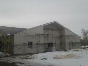 В елабужском сельском ДК Бехтерево ремонтные работы завершатся к 1 мая