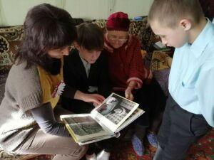 Бугульминская труженица тыла рассказала подросткам, как выжила в войну
