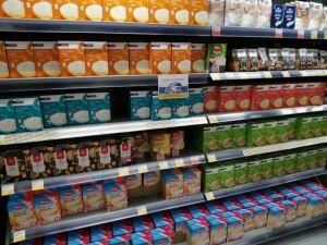 В магазинах Набережных Челнов дефицита продуктов не наблюдается