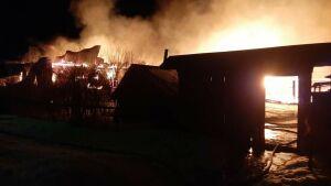 Пожилые супруги стали жертвами пожара в РТ, спалившего дотла  частный дом