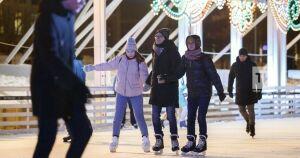 Из-за аномального тепла в Казани досрочно закрылся каток на «Черном озере»